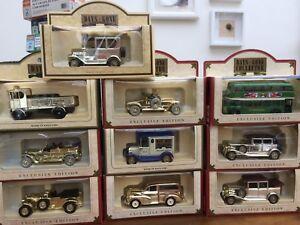 Lledo-dias-GONE-Collector-Magazine-modelos-Rolls-Royce-Bentley-Ford-Morris-Foden