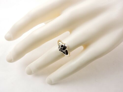 Free Gift Packaging Sterling Silver Skull Ring