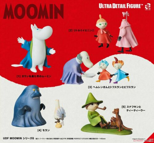 UDF Ultra Detail Figure MOOMIN Series 6 Moran Each Height Approximately 88 55m