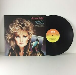 Bonnie-Tyler-Holding-Out-For-A-Hero-12-034-Single-Vinyl-Record-1984-TA4251-Ex-Ex