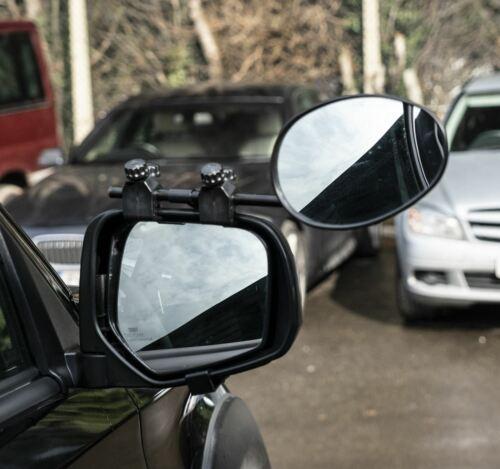 Espejo convex Caravana Coche Extensión remolque se ajusta Audi