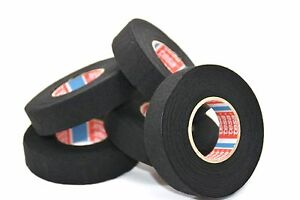 5 X TESA Tape 15m x 19mm CABLE ROLL ADHESIVE CLOTH FABRIC WIRING LOOM HARNESS