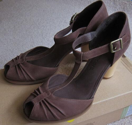 Zapatos 27697 En Caja 5 8 Timberland Toe Us Peep nevali marrón Nuevo Mujer RqAxUEwT