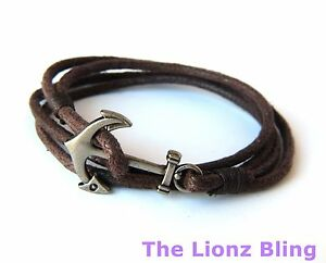 Image Is Loading Urban Vintage Braided Brown Rope Bracelet W Antiqued