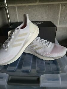 adidas-Solar-Boost-19-Running-Shoes-White-Mens-US-Size-7-5