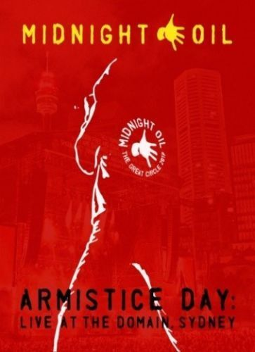 Midnight Oil Armistice Day Live at the Domain Sydney BLU-RAY All Regions NEW
