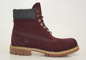 Details about Timberland 6 Inch Premium Boots Waterproof Boots Men's Lace Up A17YN