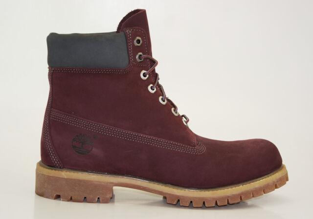 Timberland 6 pulgadas Premium Boots Waterproof Botas De Hombre cordón a17yn