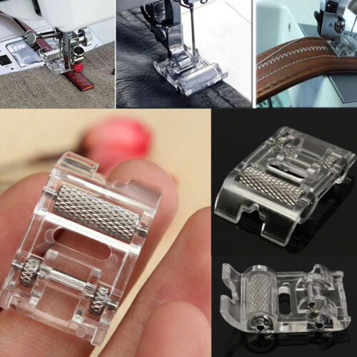 Low Shank Roller Presser Foot For Singer Brother Janome JUKI Sewing Machine new.
