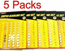 Kingman 400 Pcs of Assorted Batteries Super Alkaline Set Watch Calculators Cameras 885490242822