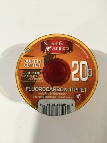 CLOSEOUT SCIENTIFIC ANGLERS FLUOROCARBON TIPPET 20LB