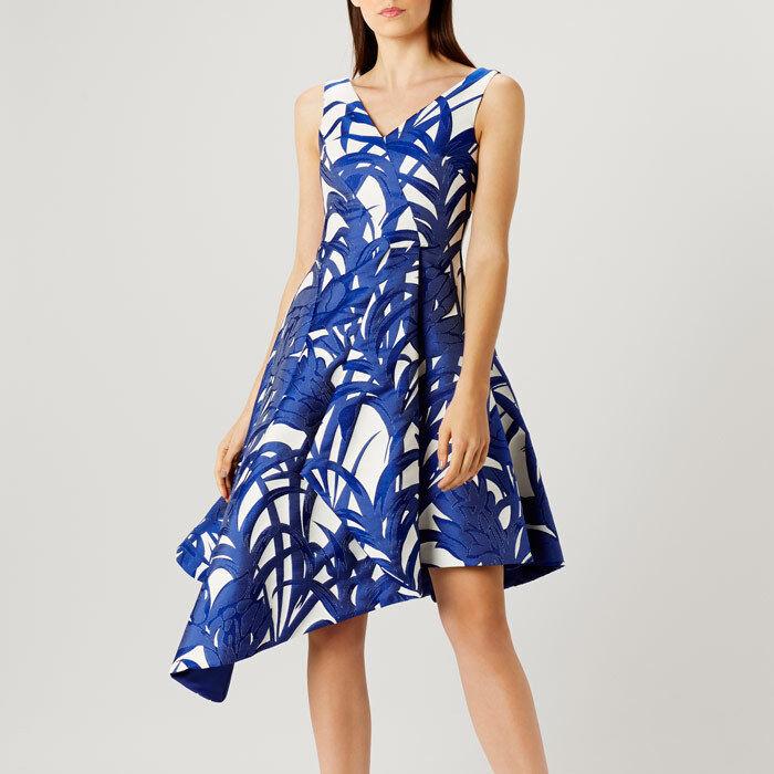 Coast Palm Jacquard Dress Size 24 rrp  LS079 JJ 12