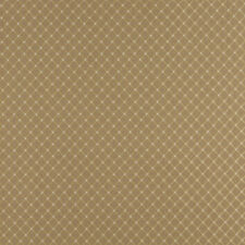 Pattern # A449 Beige Small Two Toned Diamond Upholstery Fabric By The Yard