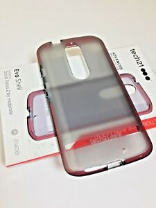 innovative design 9a72c a2b1b Details about Tech21 Evo Shell FlexShock Case/Cover for Droid Maxx 2 by  Motorola Smoky BK/RED