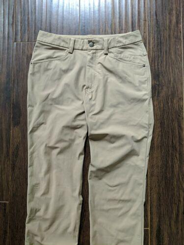 Lululemon ABC Casual Pants Men's 30 Khaki