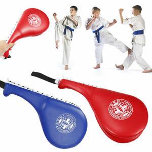 New Taekwondo Double Kick Pad Target Tae Kwon Do Karate Kickboxing MMA Training