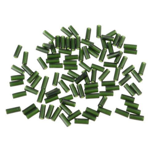 100pcs Rubber Fishing Buffer Beads Knot Protector Terminal Tackle Chod Rigs