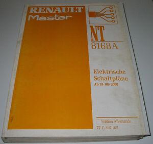 Bücher Auto & Verkehr QualitäT Und QuantitäT Gesichert Professioneller Verkauf Werkstatthandbuch Elektrik Renault Master Ii Elektrische Schaltpläne Ab 06/2000