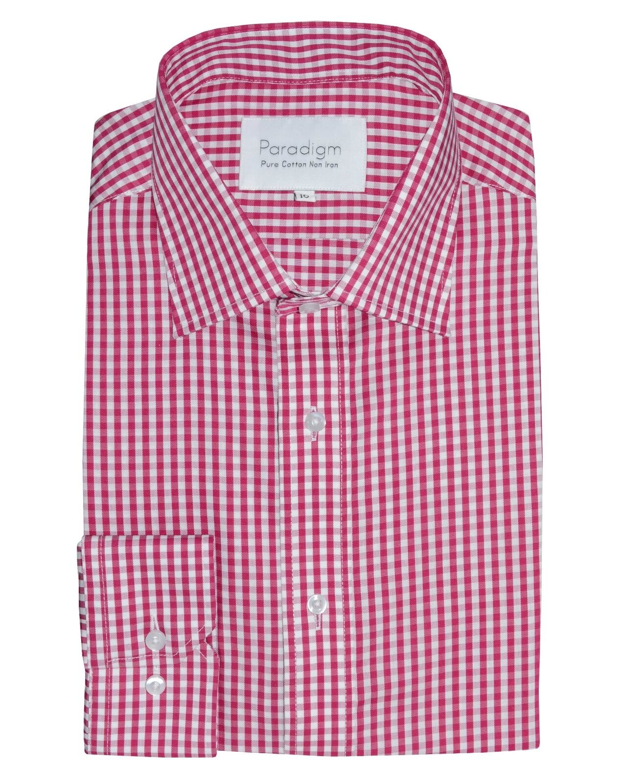 PARADIGM® Pure Cotton Non-Iron Formal Shirt Cherry - 18  SRP