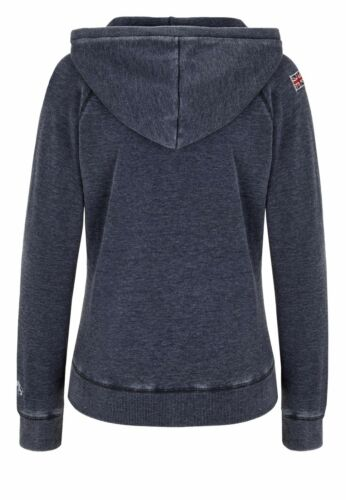 Femme SweatCapuche Lonsdale Zipsweat Antracite Selby WDE9IH2