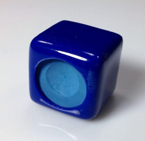 1 Billiard Pool Table Cue Chalker BLUE NEW Chalk Holder
