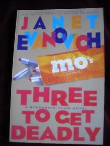 Janet Evanovich Three To Get Deadly read by Lori Petty 3 CDs 22