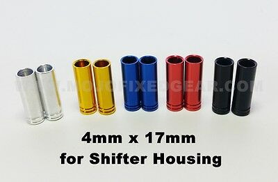 Brake Cable Housing End Cap Ferrules 5mm x 23mm Mix /& Match Colors and quantity