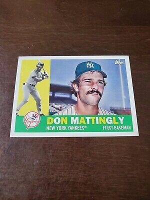 2015 Topps Archives Baseball Card #276 Don Mattingly