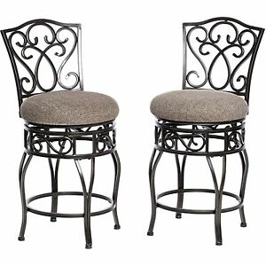 Kitchen Countertop Stools Bar With Backs 24 Inch Counter Swivel Set ...