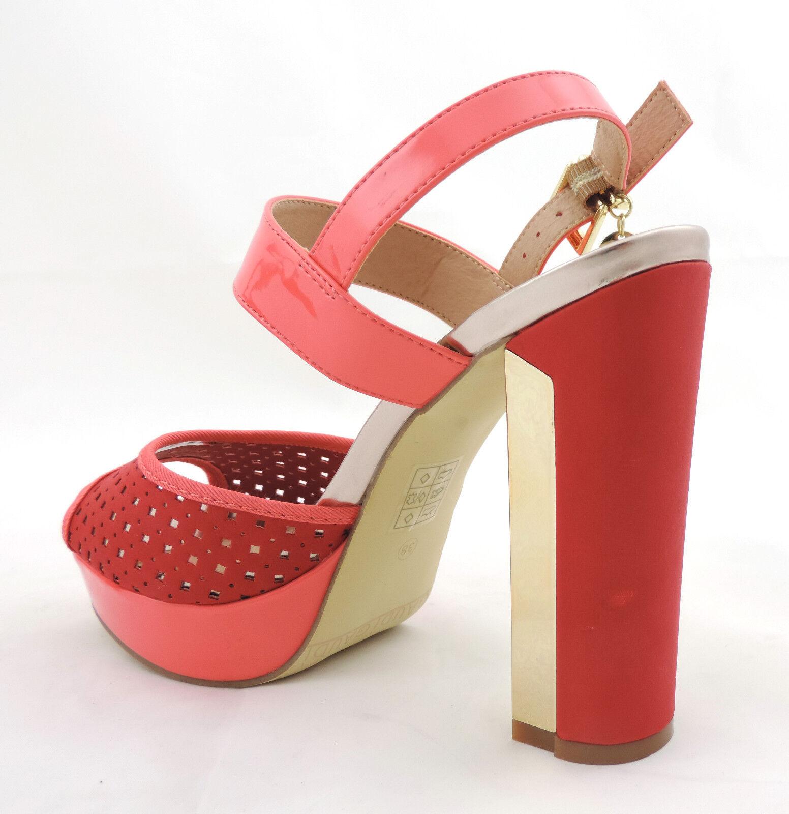 Gaudi  Sandale high heels rosa neu lachs  Schuhe pumps neu rosa 056d20