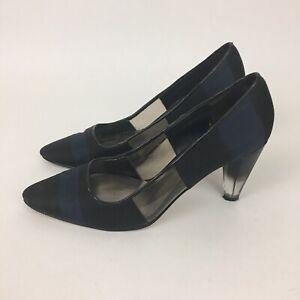 Payless Black Navy Blue Size 6 Heel