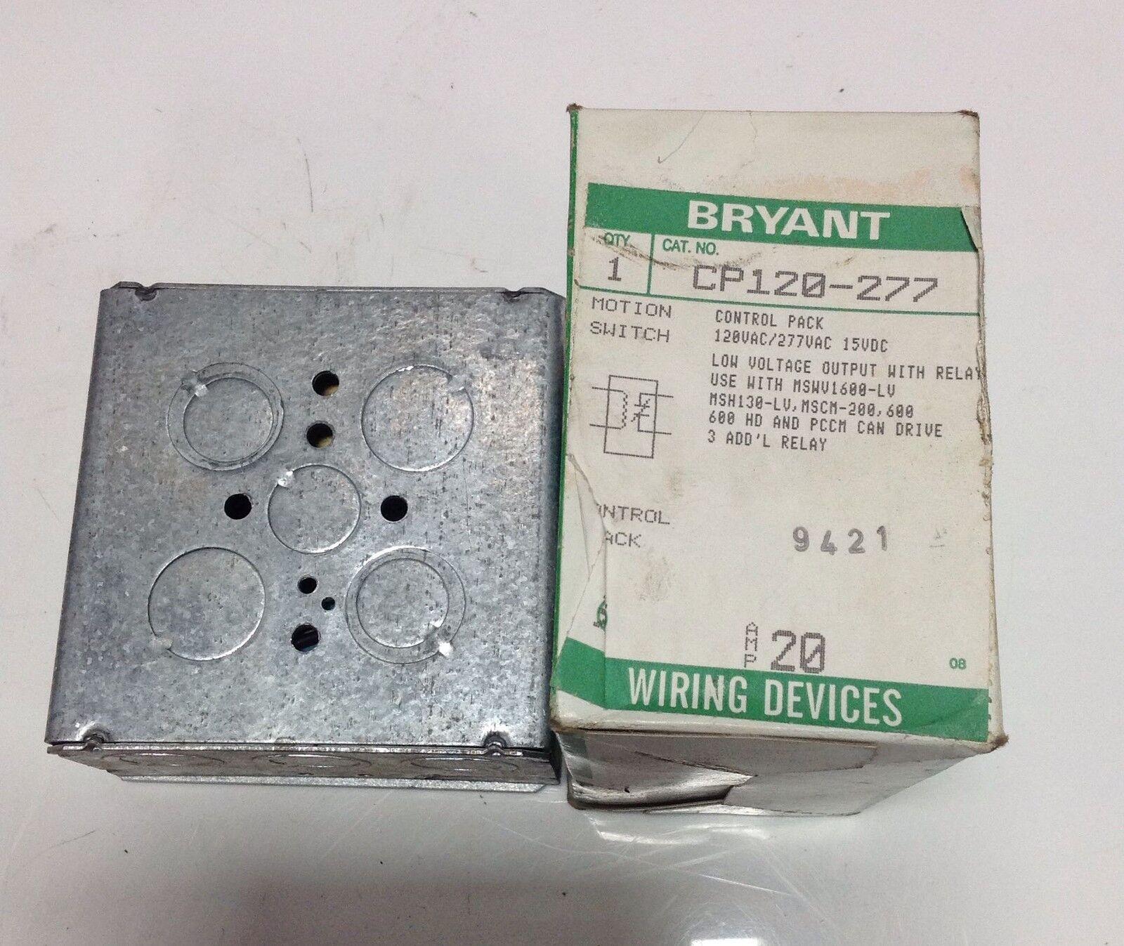 Superb Bryant Wiring Device Cp120 277 103007 Ebay Wiring Database Ittabxeroyuccorg
