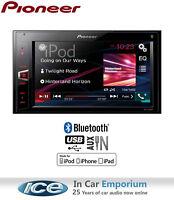Pioneer MVH-AV280BT car stereo, MP3 Player Bluetooth USB AUX in