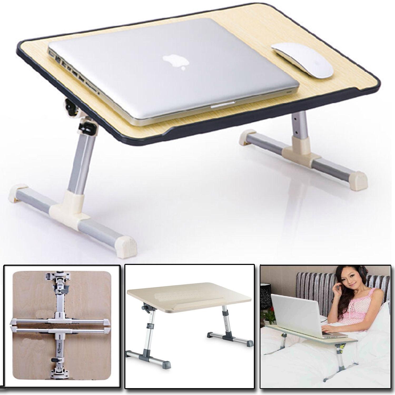 Details About Large Adjule Portable Laptop Desk Folding Bed Sofa Computer Table Stand