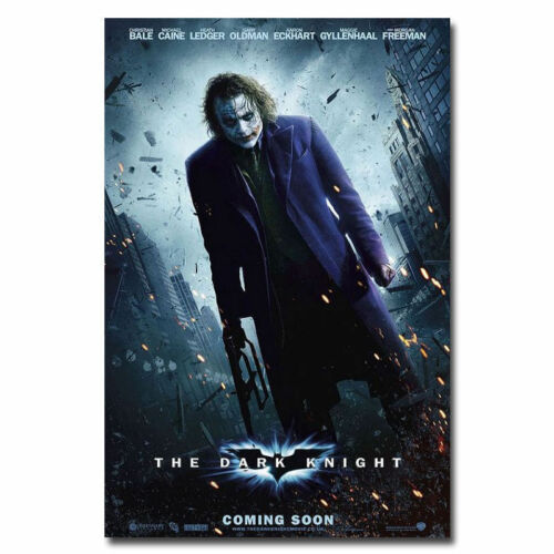 Z262 Batman Joker The Dark Knight Rises Movie Hot Silk Poster 36x24 40x27