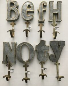 image is loading nwt anthropologie marquee initial letter wall hook