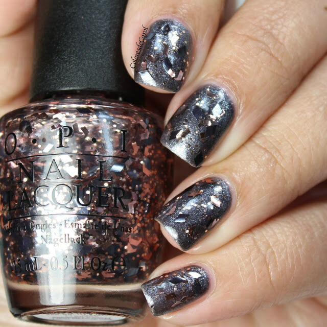 OPI Nail Polish Lacquer in Two Wrongs Don\'t Make a Meteorite Glitter ...
