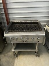 Southbend 36 Charbroiler Commercial Nat Gas Barbeque Bbq Grill Stainless Steel
