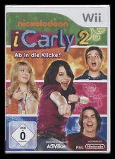 NINTENDO Wii - iCarly 2 - AB IN DIE KLICKE - KOMPLETT IN DEUTSCH *** NEU ***