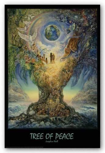 FANTASY POSTER Tree of Peace Josephine Wall