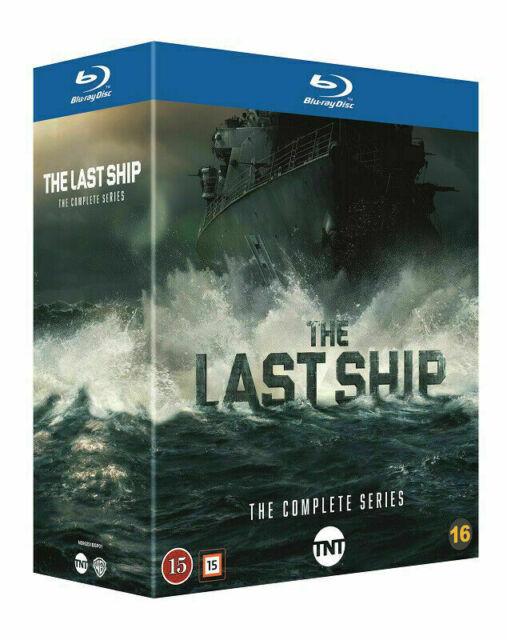 The Last Ship Complete Series Seasons 1-5 Blu-Ray Set Box Set No Shrink Wrap.