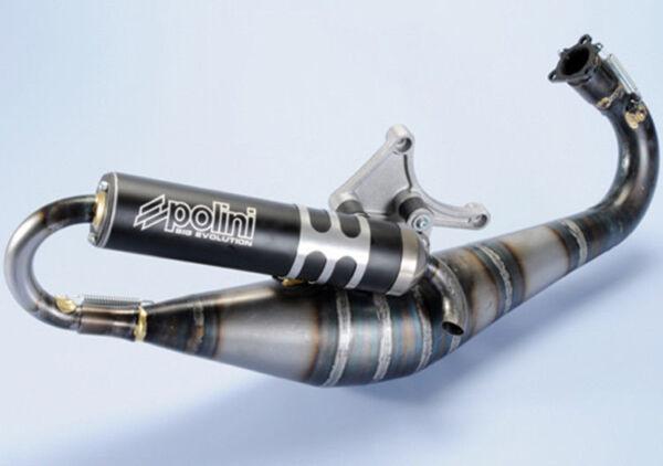 200.0287 Marmitta Big Evolution 94cc Polini Piaggio : Mc2 50 1998 - Nrg Mc3 H2o