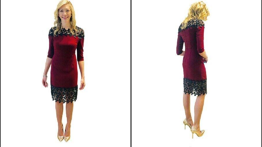 ac51d76a4dbd Minan Wong Mimi Leafy Dress Small Medium Lace ntcxib16165-Dresses ...