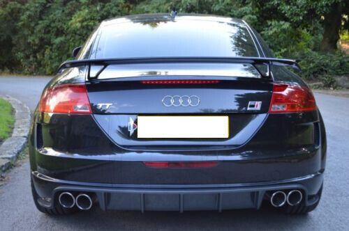 Techo alerón trasero alerón para Audi TT Heck atrás Heck alas TTS ttrs RS