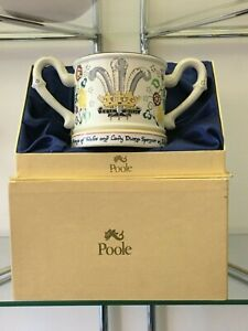 Poole-Pottery-Loving-Cup-Painted-Caroline-Beckwith-Prince-Charles-Lady-Diana