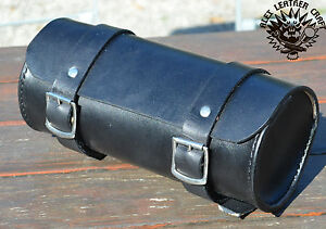 Cuir-Rouleau-d-039-outils-taille-XS-Sac-a-outils-Chopper-bobber-Harley