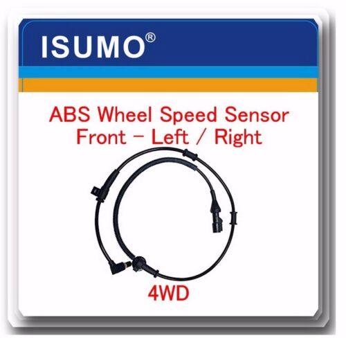 1 Kit ABS Wheel Speed Sensor Front Left or Right Fits Excursion  Series F 4WD