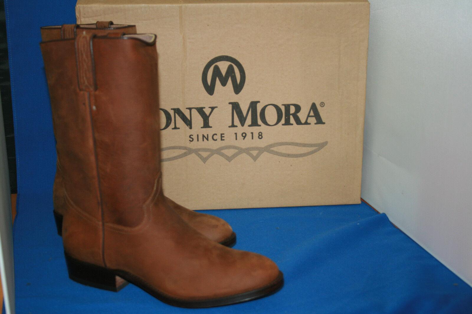 TONY MORA Stiefel Stiefel westernstiefel 42 cowboystiefel  gr. 42 westernstiefel  neu  leder nobuk 064f14
