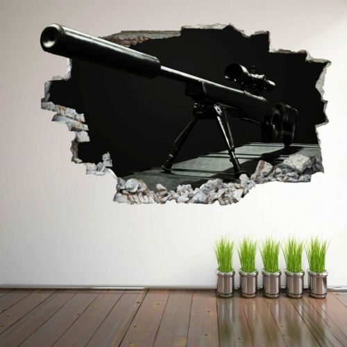 Sniper Army Military Wall Art Stickers Mural Decal Kids Room Home Decor EG7