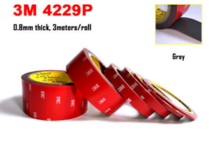 0-8mm-Thick-Double-Adhesive-Acrylic-Foam-Tape-for-Automotive-Body-Side-Moldings
